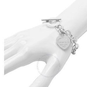 Tiffany's Heart Tag Bracelet.